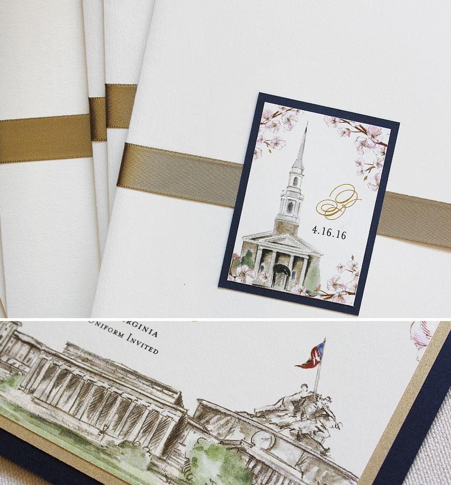 military-wedding-invitations