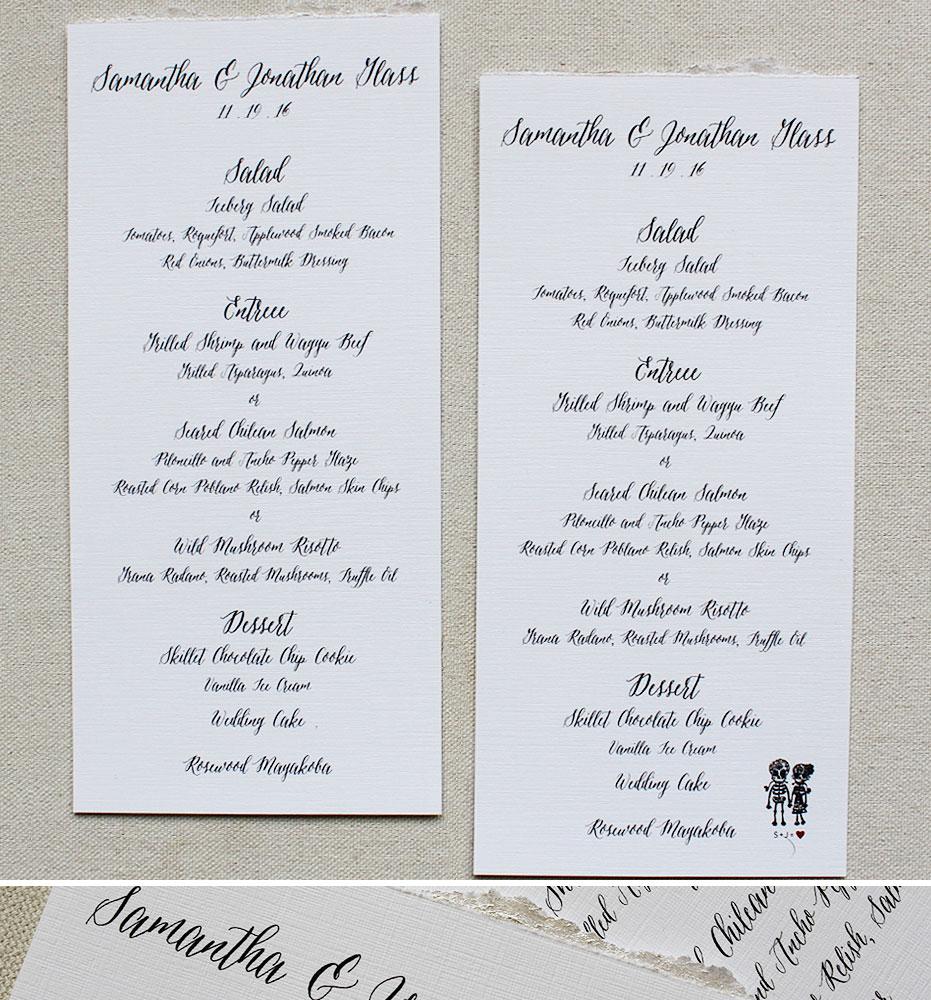 custom-wedding-menus
