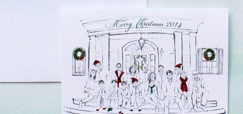 watercolor-family-portrait-Christmas-cards