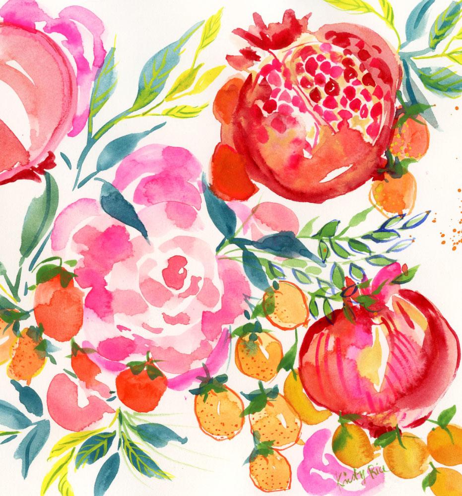 pomegranate-wedding-invitation