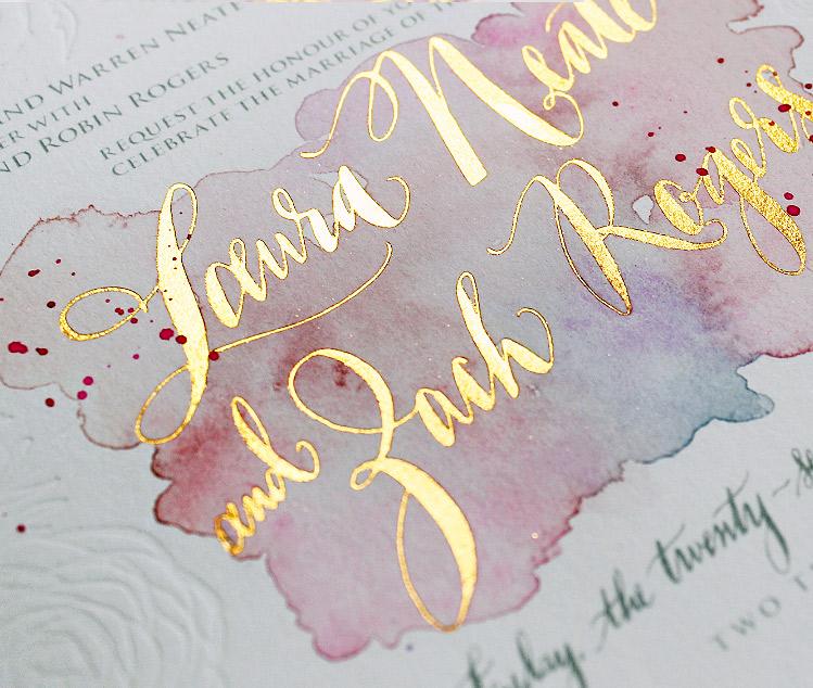 watercolor-foil-letterpress-wedding-invite