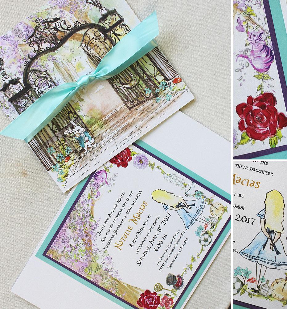 custom-quincinera-invitations