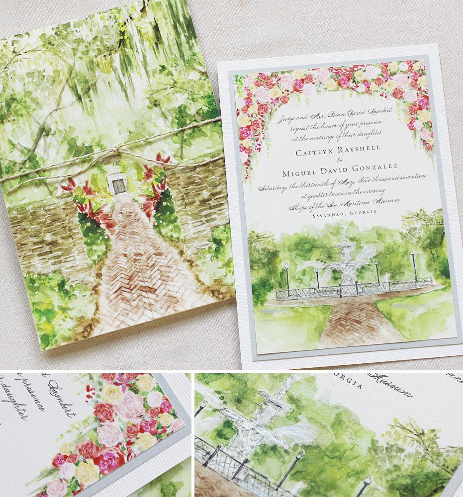 watercolor-southern-wedding-invitation