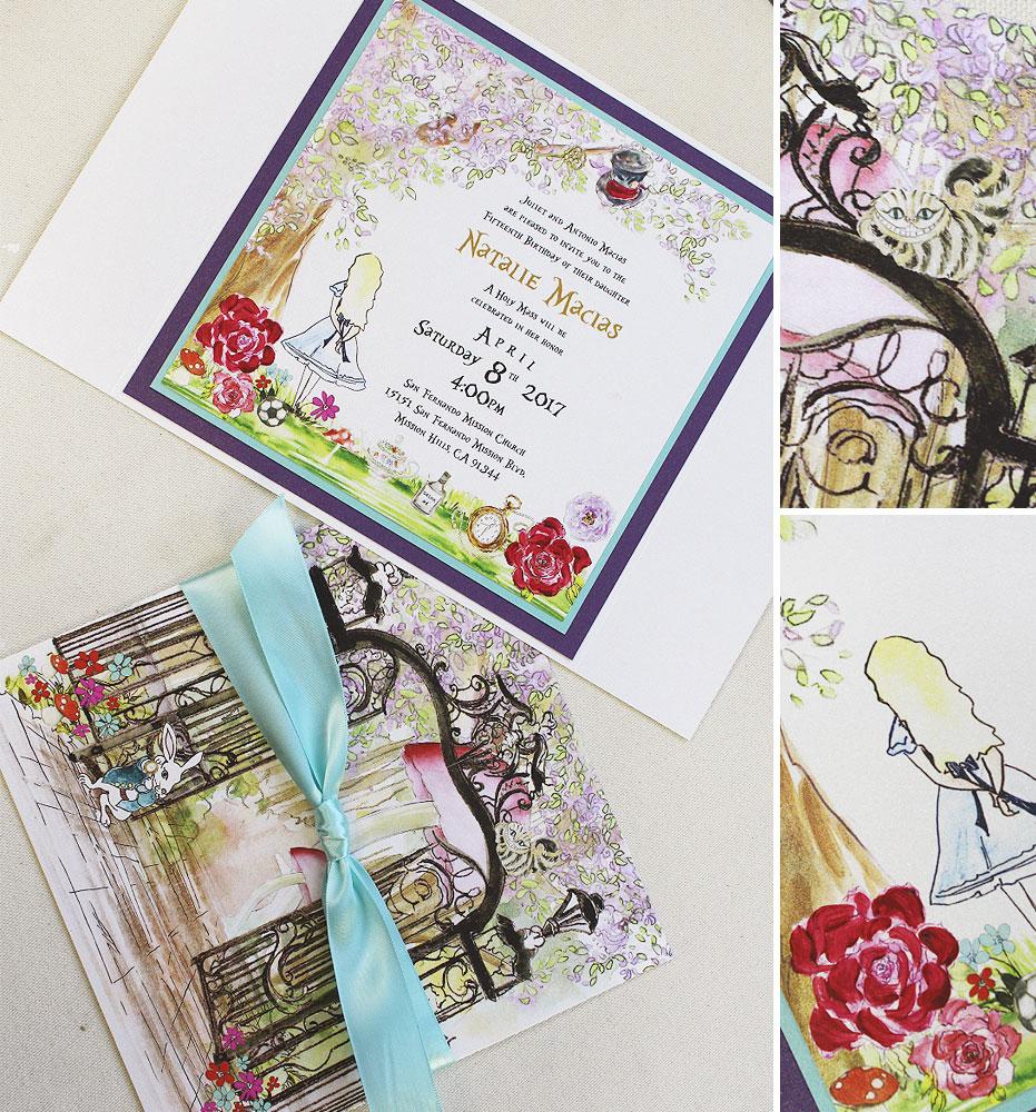 hand-painted-quincinera-invitations
