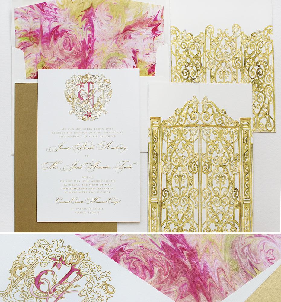 marbled-wedding-invitations