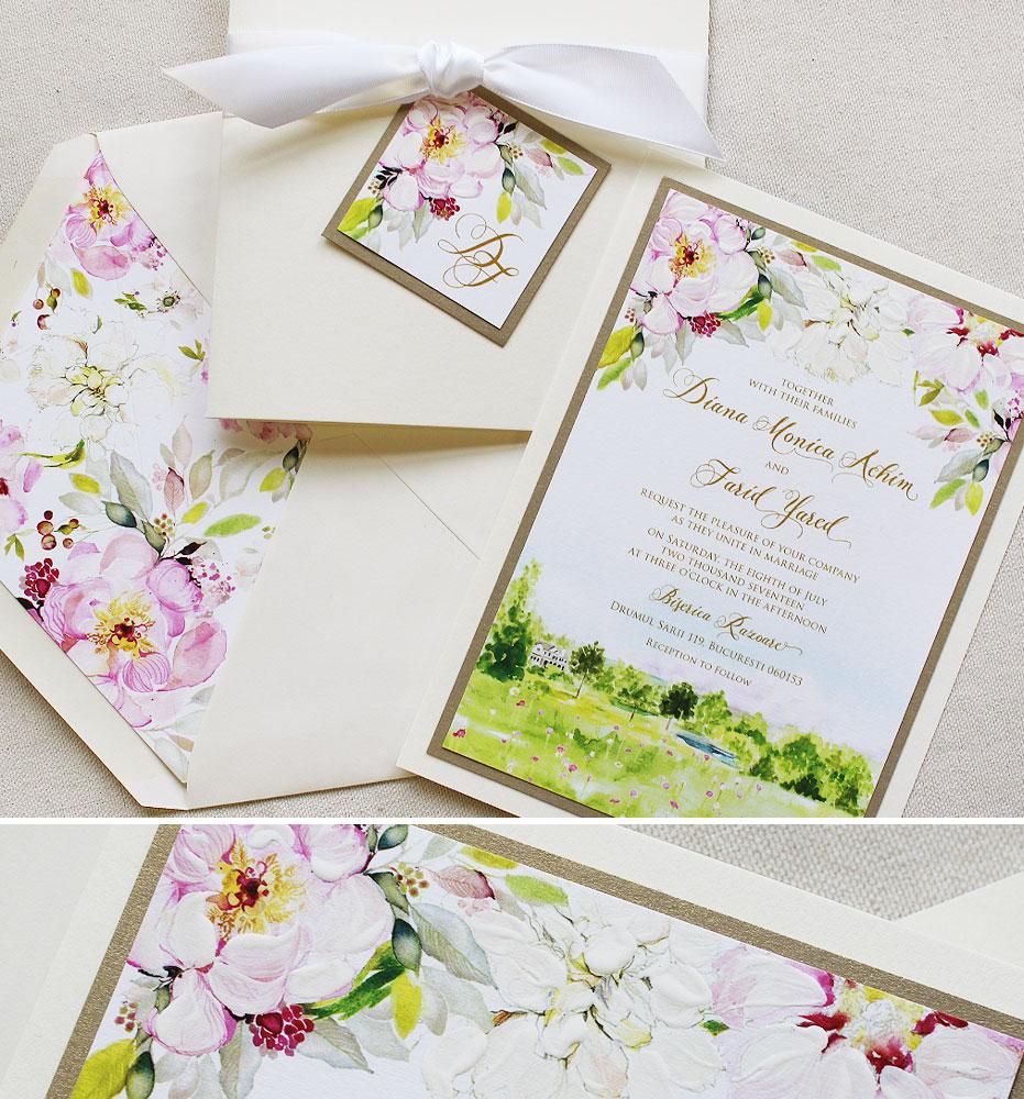 pink-floral-wedding-invitation