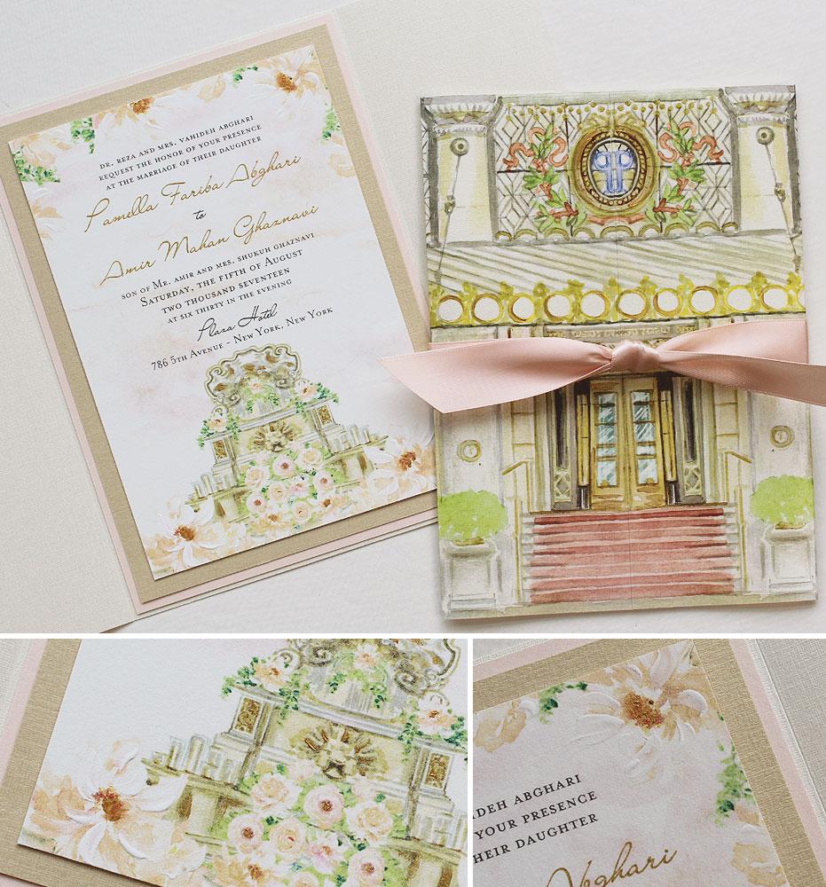 custom-illustated-wedding-invitation