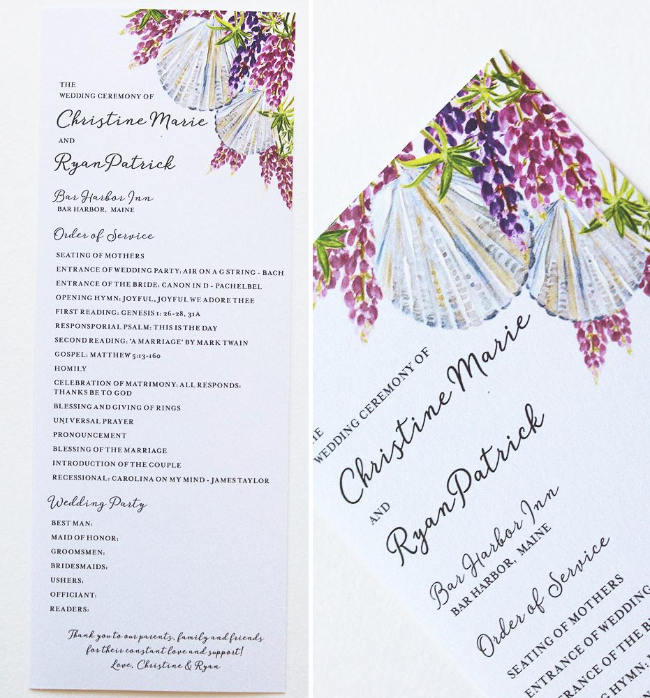 hand-painted-wedding-menus