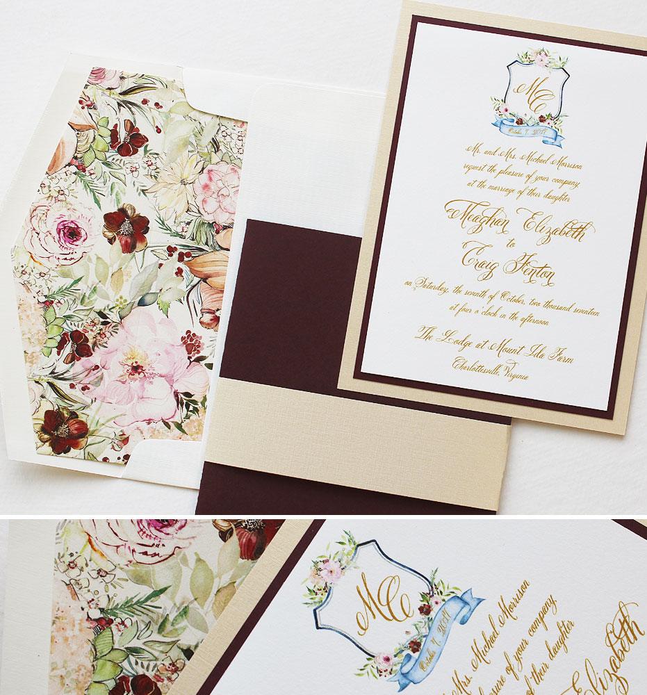 custom-crest-wedding-invitations