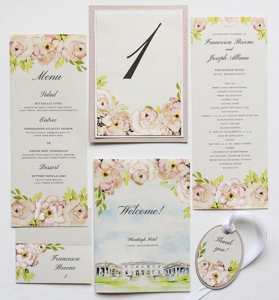 peach-floral-wedding-stationery