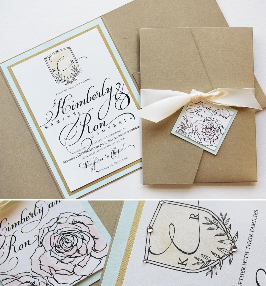 custom-crest-wedding-invitation