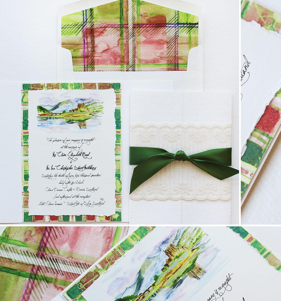 castle-wedding-invitations