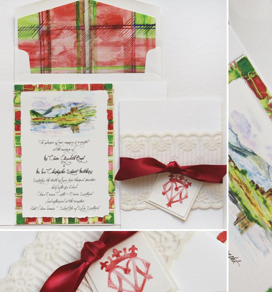 patterned-wedding-invitations