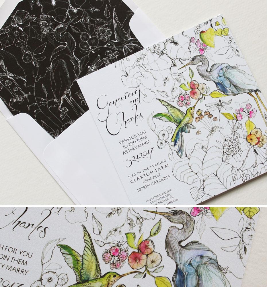 watercolor-woodland-wedding-invitations
