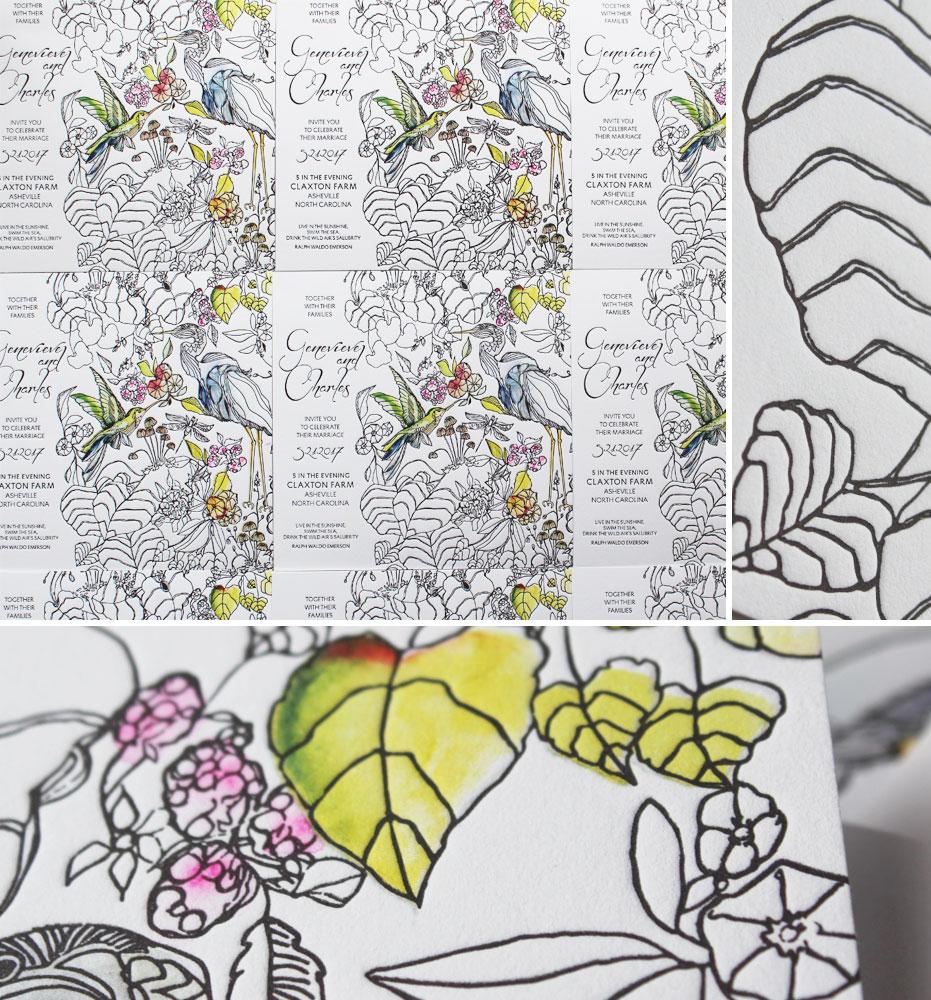 pattern-wedding-invites