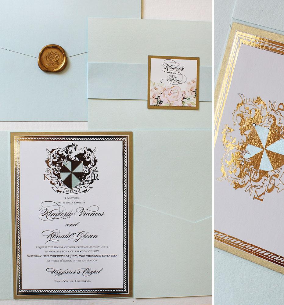 gold-foil-wedding-invitations