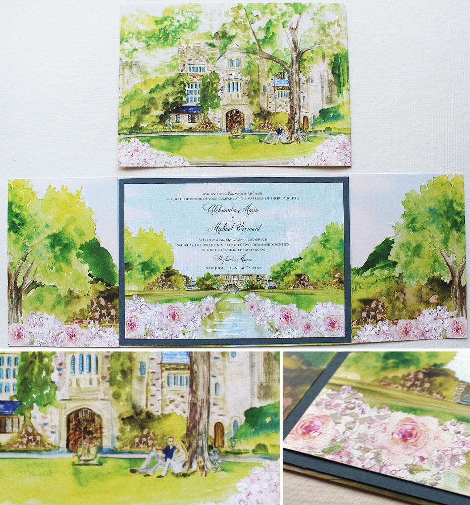 hydrangea-wedding-invitations