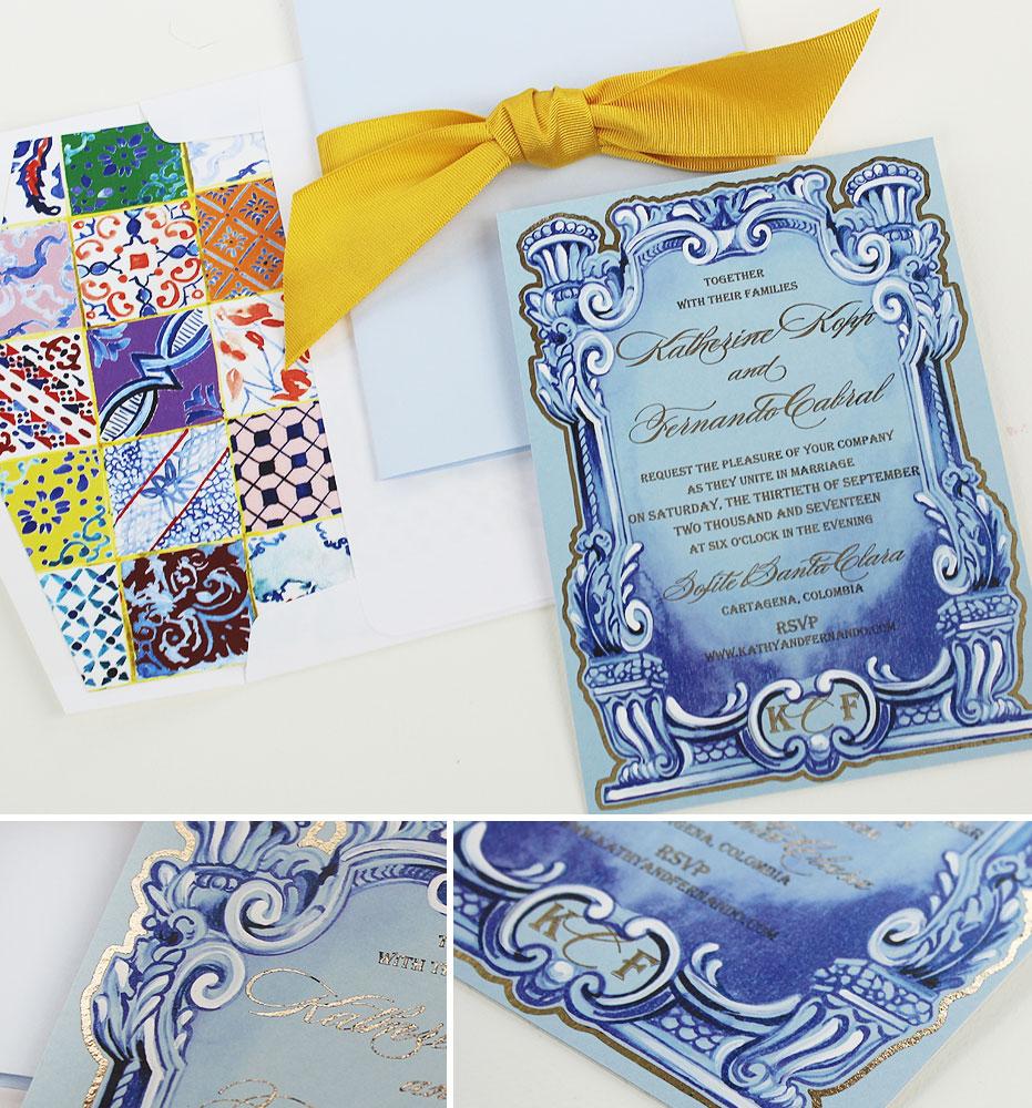 hand-painted-columbia-wedding-invitation