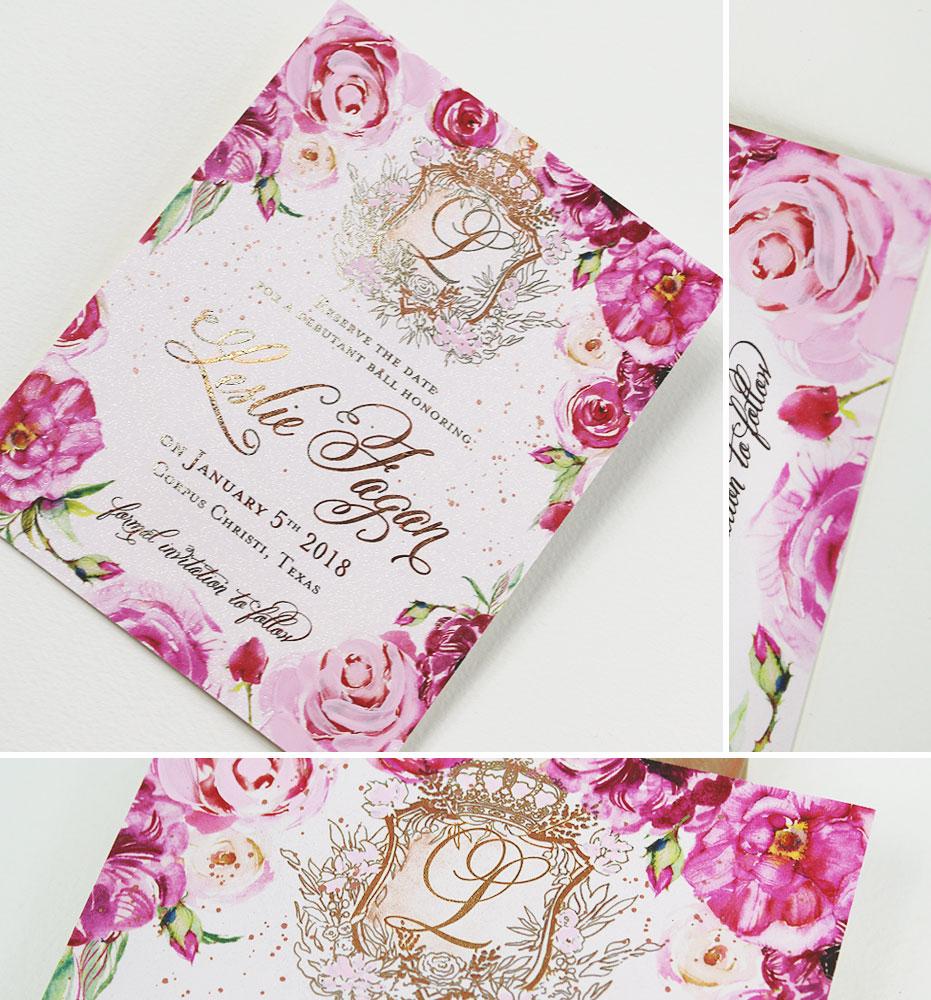 rose-gold-foil-stationery