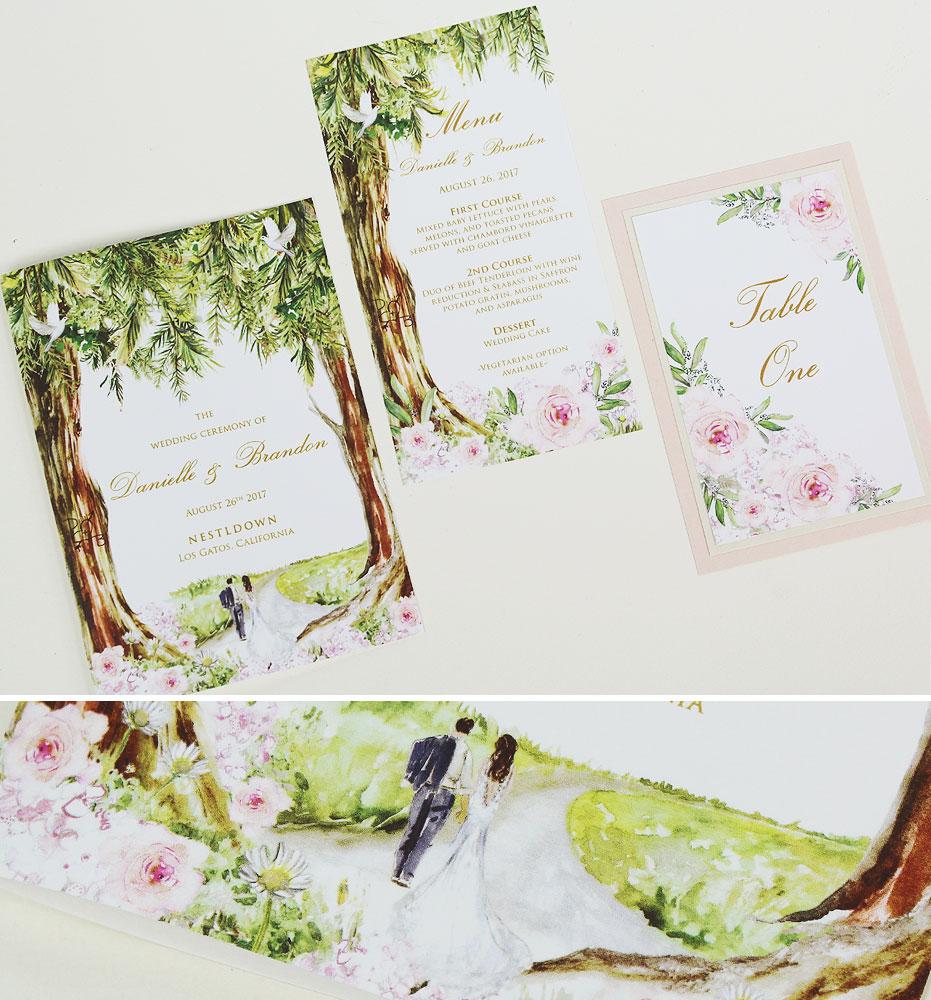 pink-floral-wedding-stationery