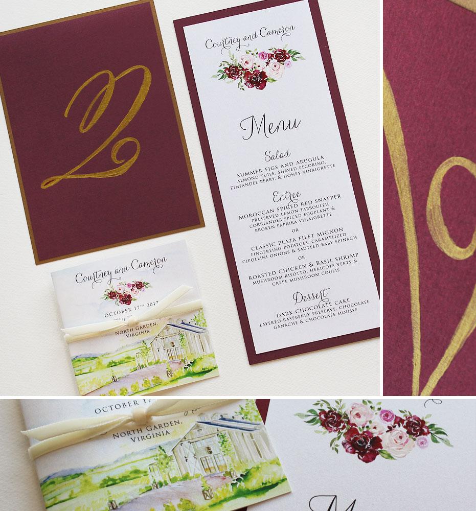 watercolor-landscape-custom-wedding-program