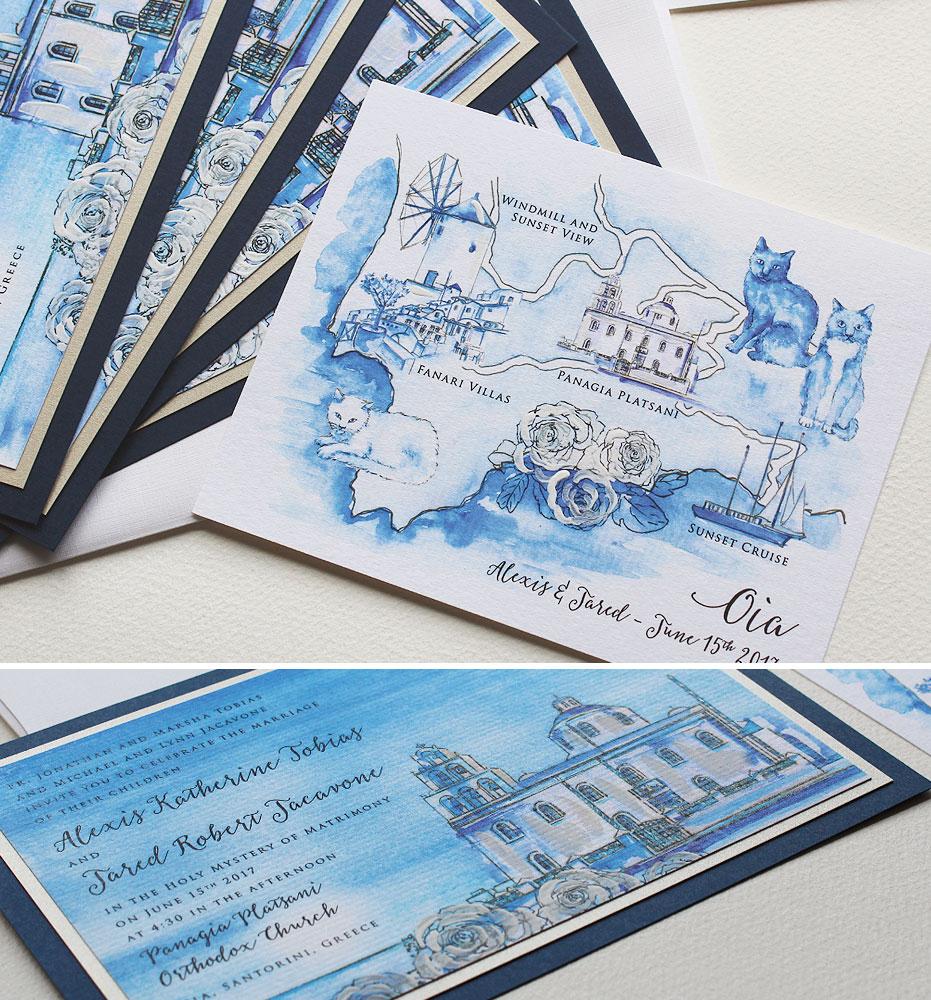greece-watercolor-wedding-invites-map