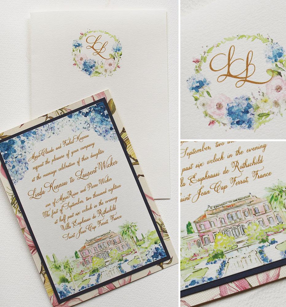 blue-hydrangea-wedding-invite