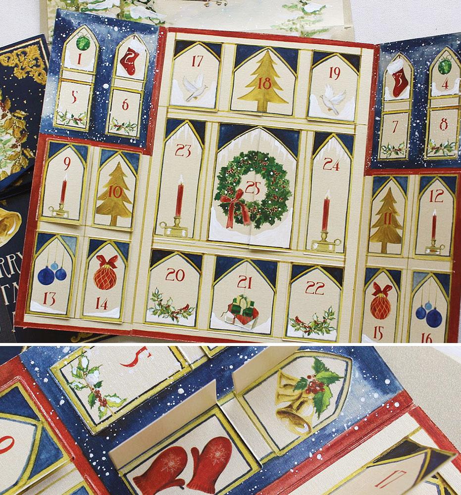 Advent Calendar Christmas Cards