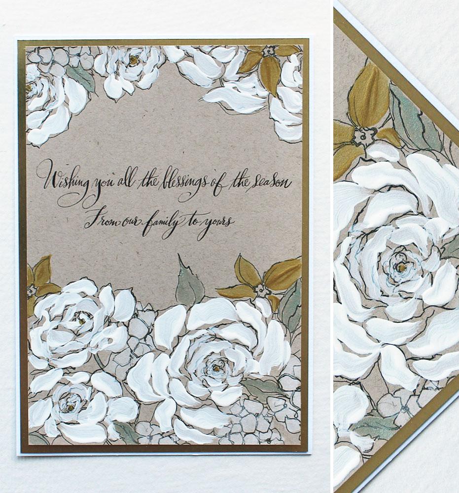 Custom Artistic Holiday Cards