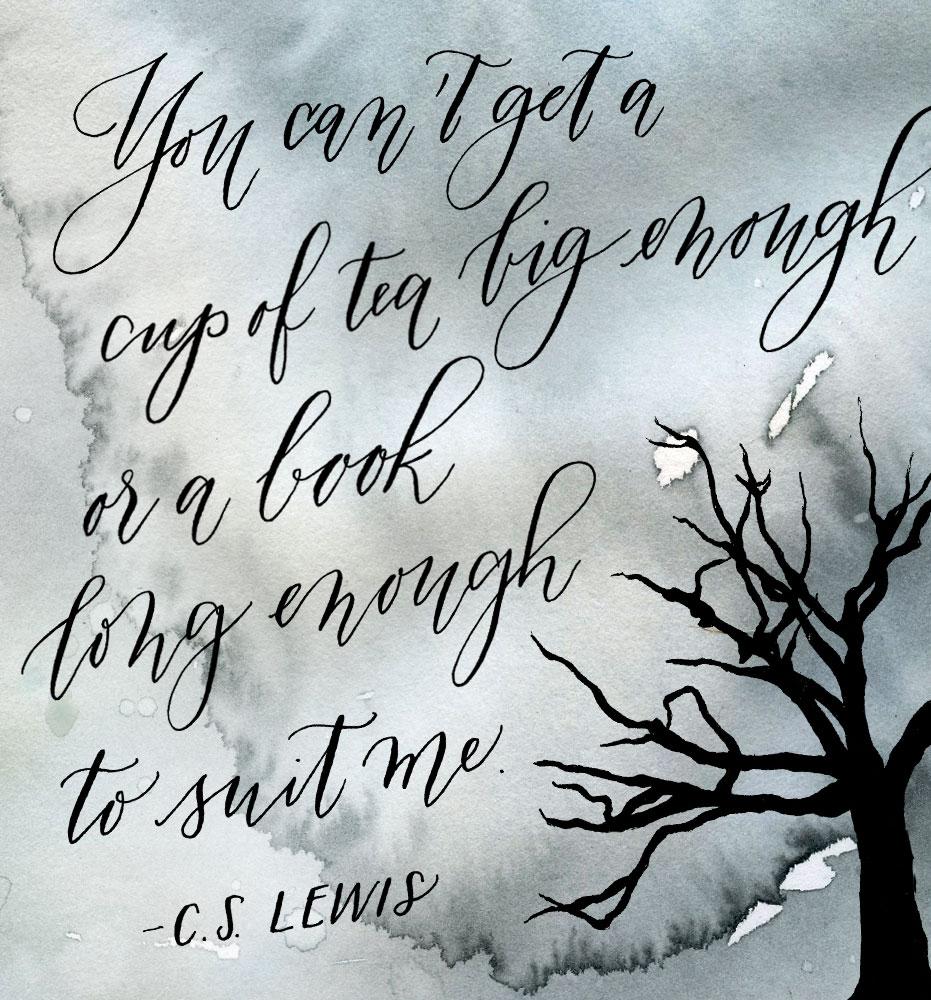 Painterly Prose CS Lewis Quote