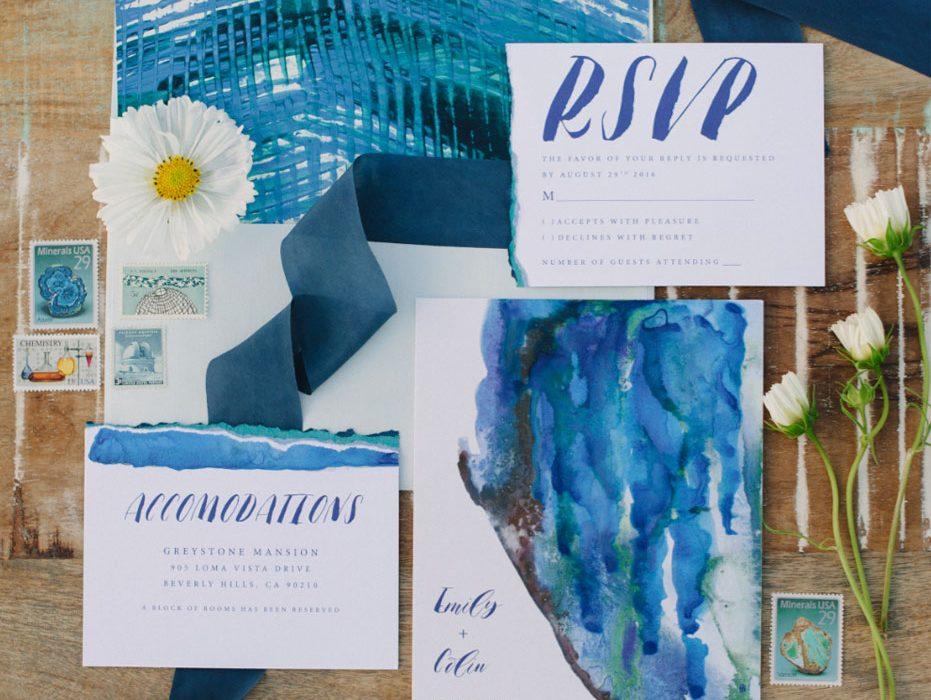 Indigo Blue Stationery at Estancia Culinaria