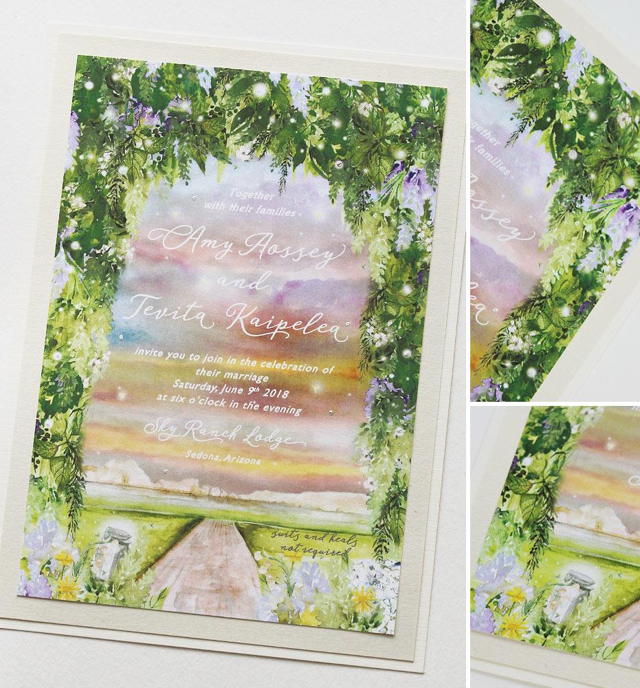 Arizona Wedding Invitations