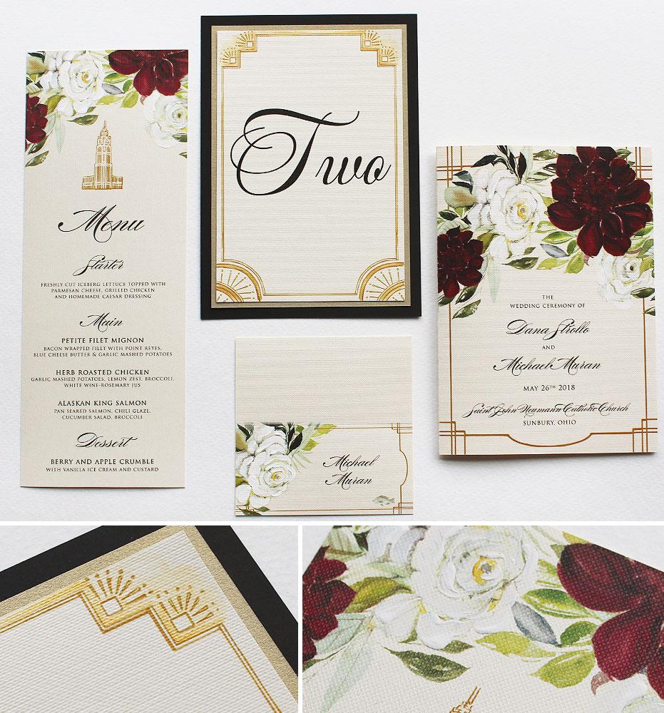 Art Deco Wedding Day Accessories