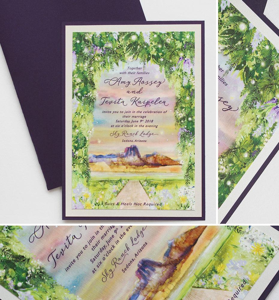 Sedona Wedding Invitations