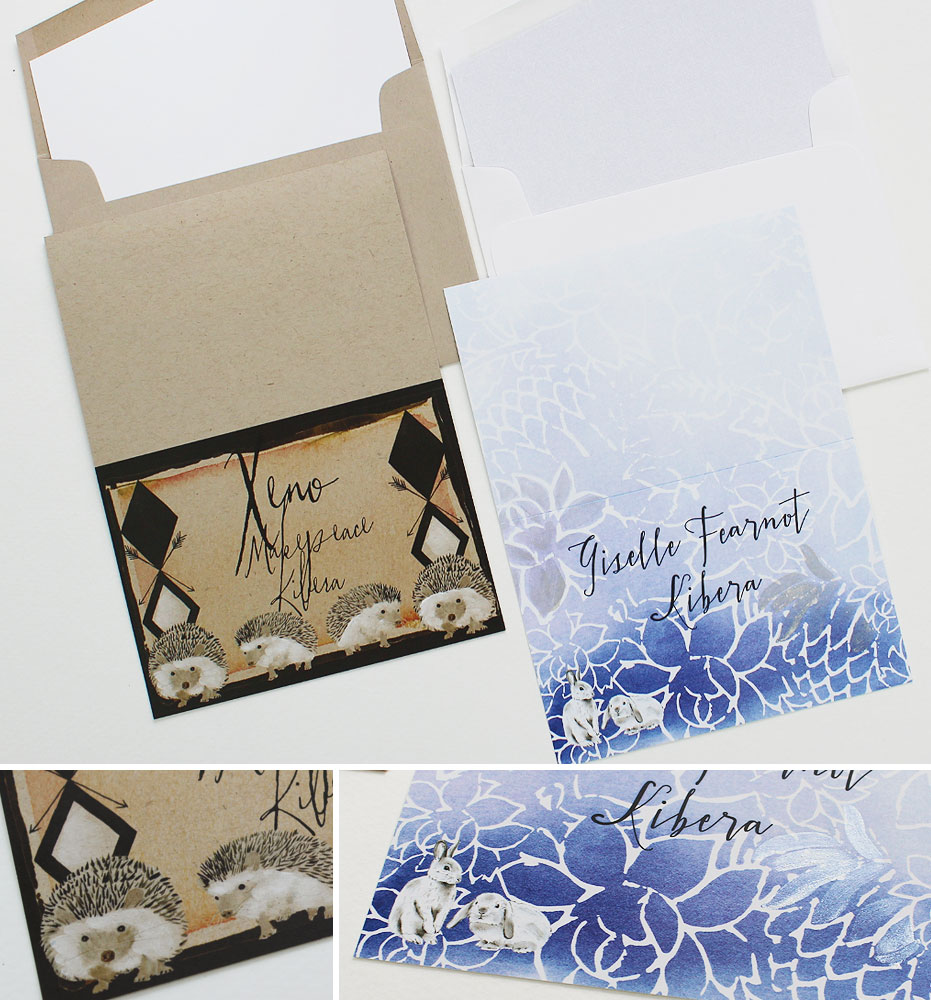 Custom Illustrated Note Cards