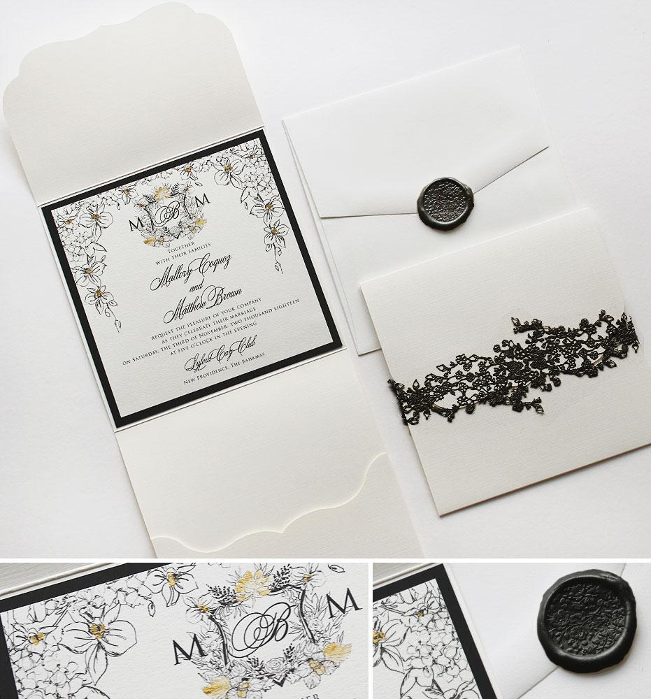Bahamas Wedding Invitation