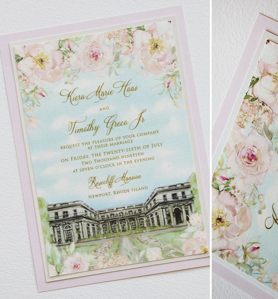 Rosecliff Wedding Invitations