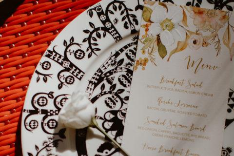 Boho Style Wedding Stationery