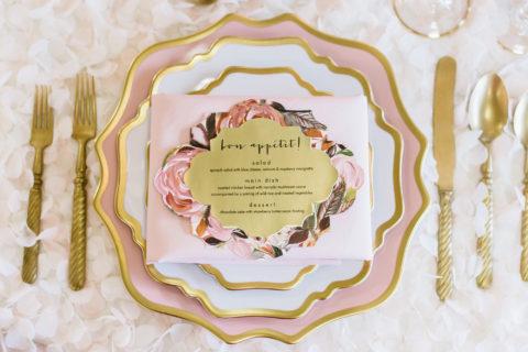 custom wedding day stationery