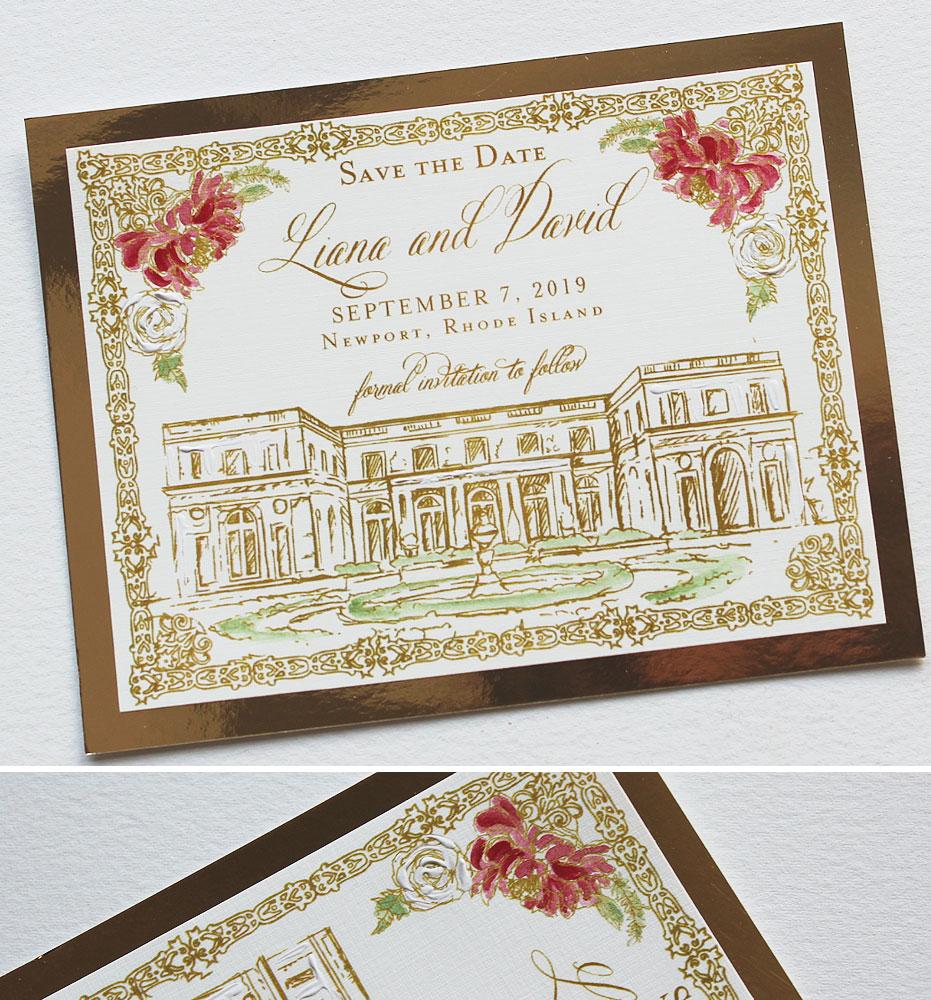 Rosecliff Wedding Stationery