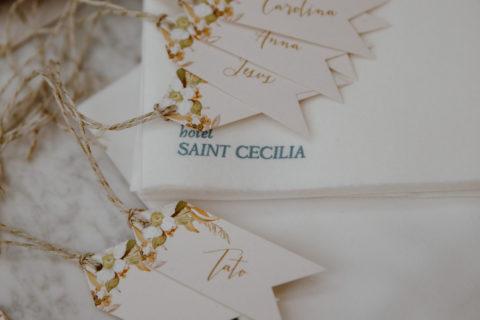 Boho Wedding Place Card Escort Cards