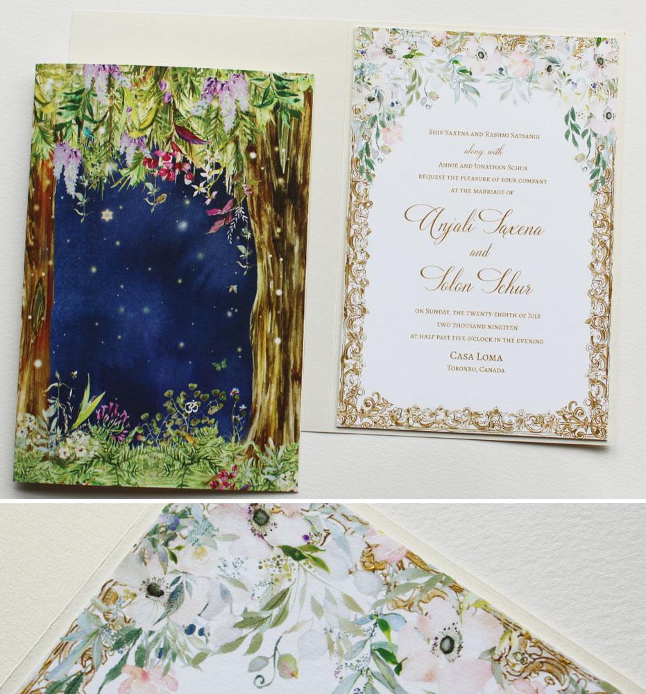 Anemone Wedding Invitations