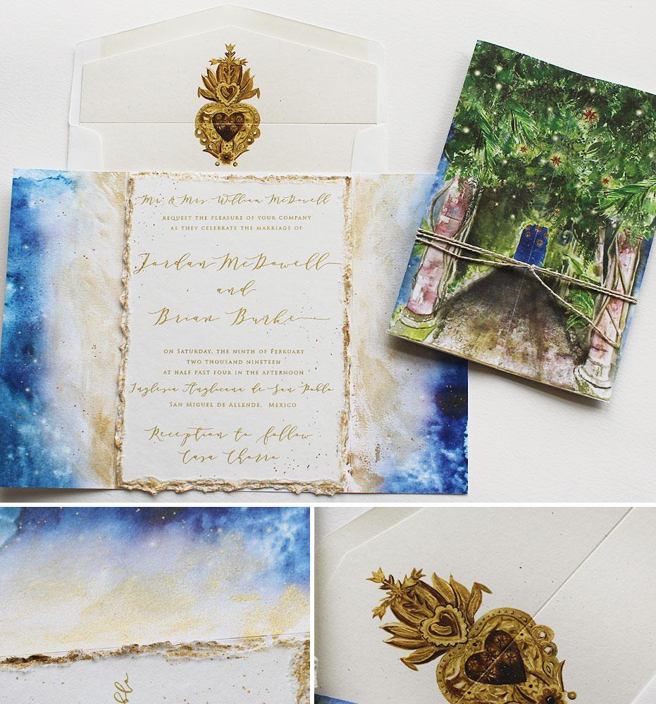 San Miguel Allende Wedding Invitation