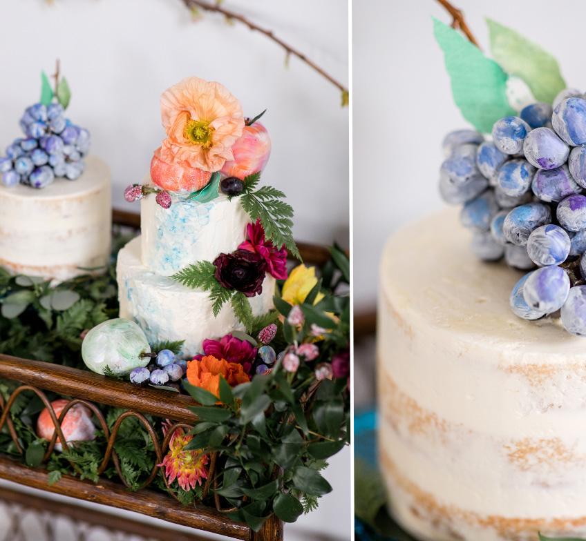 Painted-Fruit-Wedding-Inspiration