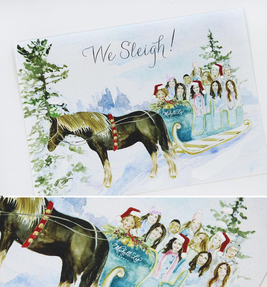 Custom Corporate Christmas Cards