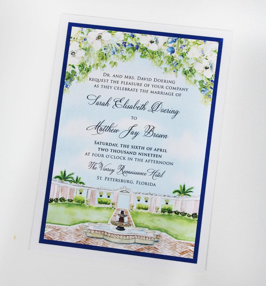 Florida Wedding Invitations