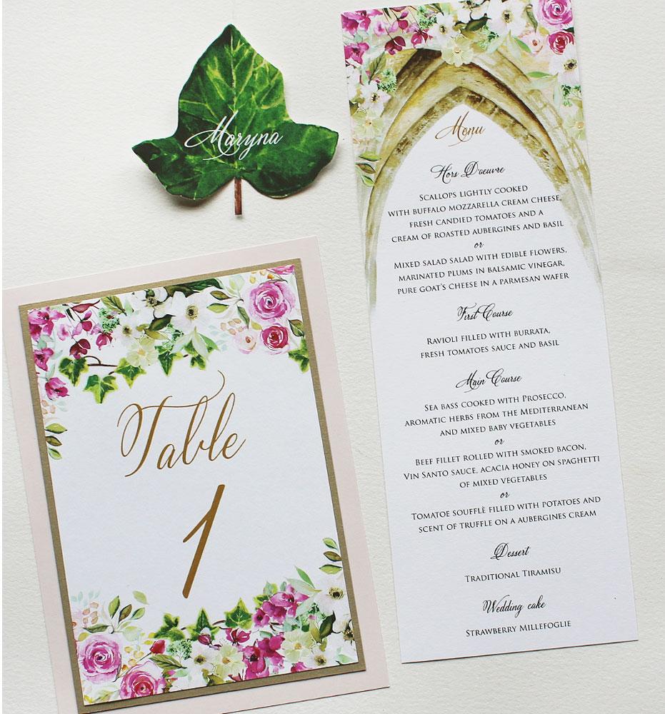 Italy Wedding Stationery