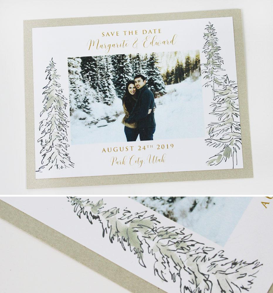 Utah Wedding Save the Dates