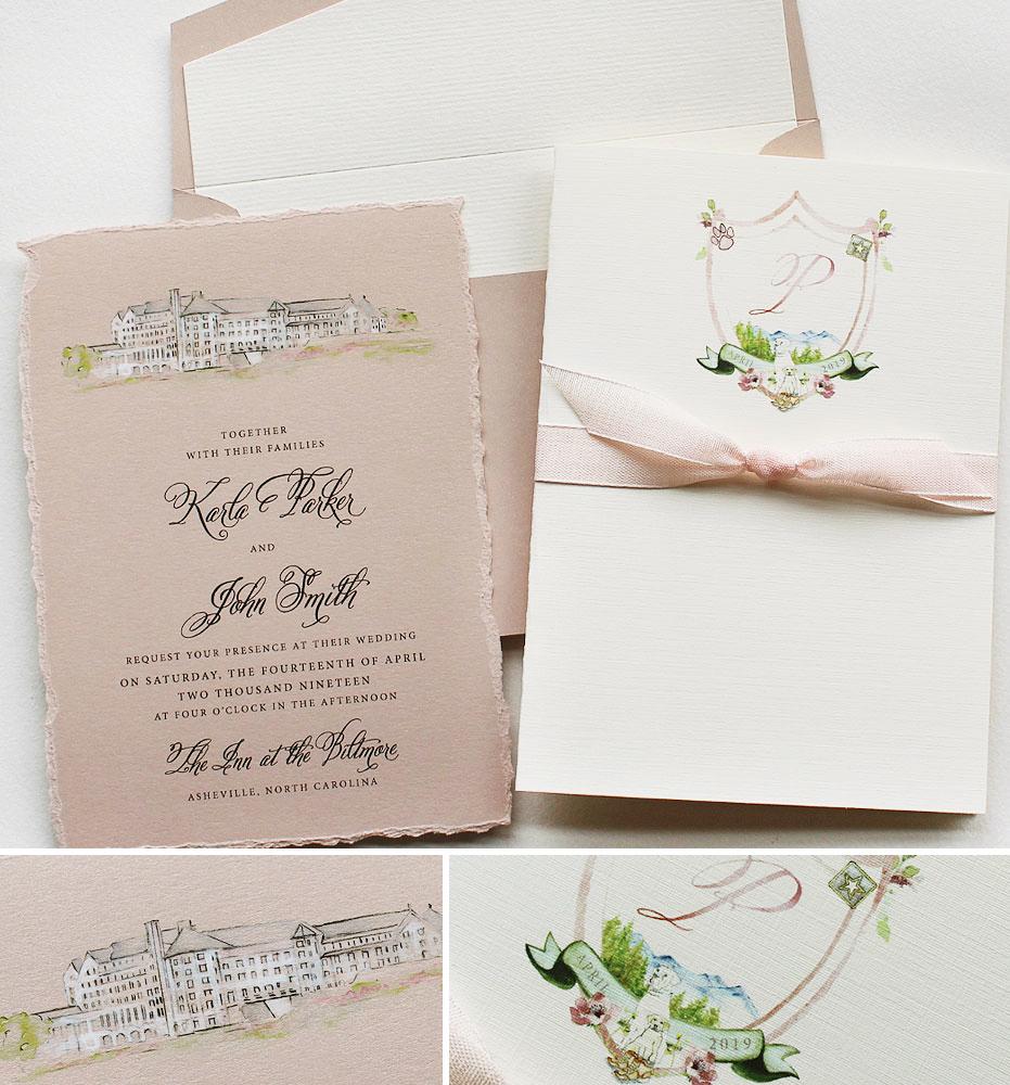 Biltmore Wedding Invitations