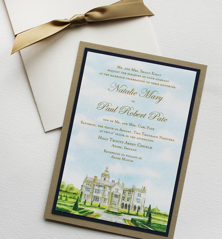 Ireland Wedding Invitations
